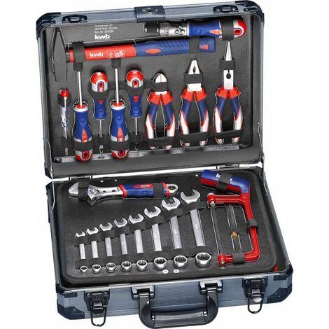 KWB Coffre à outils 129 pièces - 370780