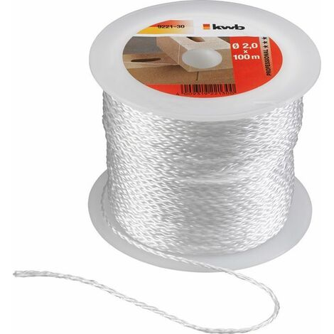 KWB Cordeau pour traceur, blanc - 922130