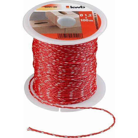 KWB Cordeau pour traceur, rouge - 925120