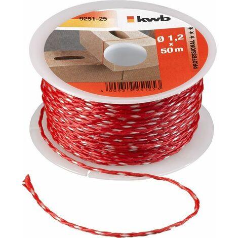 KWB Cordeau pour traceur, rouge - 925125