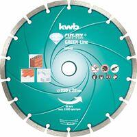 KWB CUT-FIX® Disques à tronçonner DIAMANT Green-Line, ø 230 mm - 798840