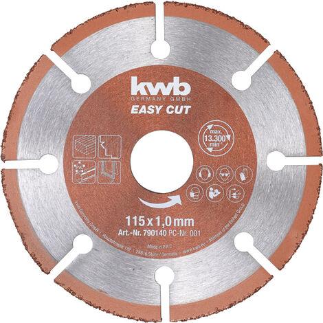 KWB Disco para madera y madera con clavo 115x22,23 mm 49790140