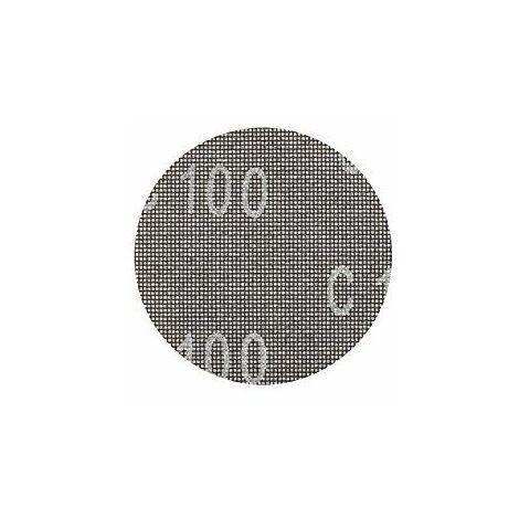 KWB Disque de ponçage Pour ponceuse excentrique 150mm, Grain 80pour plâtre et, 1pièce, placoplâtre 491408