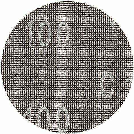 KWB Disque de ponçage Pour ponceuse excentrique Diamètre 125mm, grain 80pour plâtre et, 1pièce, placoplâtre 491308