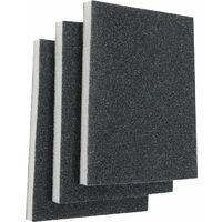 KWB Éponges abrasives BOIS & MÉTAL, moyen - 089020