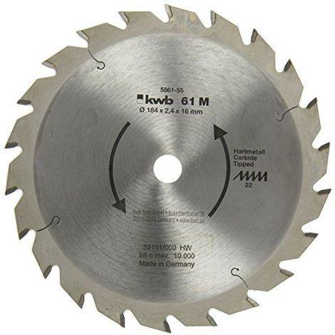 KWB lame de scie circulaire, cV, 5861-55