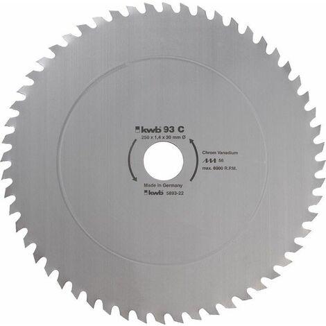 KWB Lame de scie circulaire pour la construction et la table scies ø 500 mm - 595122