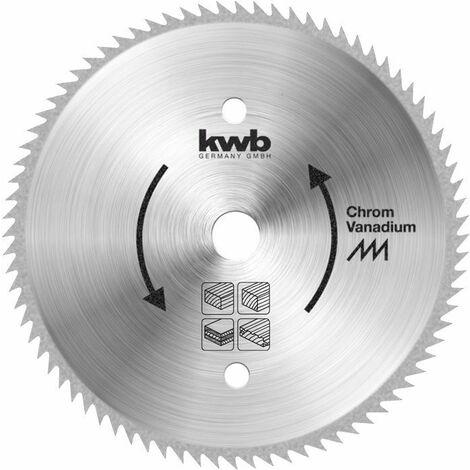 KWB Lame de scie circulaire pour scies circulaires ø 210 mm - 587811