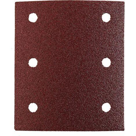 KWB Patins abrasifs QUICK-STICK, BOIS & MÉTAL, corindon affiné, 115 x 100 mm - 818004