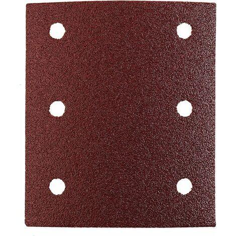 KWB Patins abrasifs QUICK-STICK, BOIS & MÉTAL, corindon affiné, 115 x 100 mm - 818008