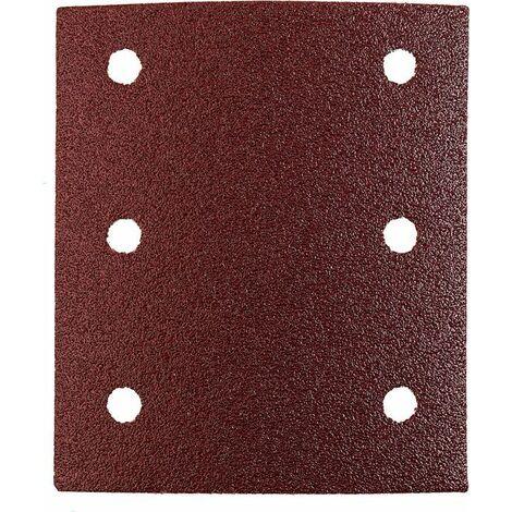 KWB Patins abrasifs QUICK-STICK, BOIS & MÉTAL, corindon affiné, 115 x 100 mm - 818012