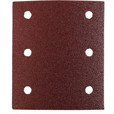 KWB Patins abrasifs QUICK-STICK, BOIS & MÉTAL, corindon affiné, 115 x 100 mm - 818018