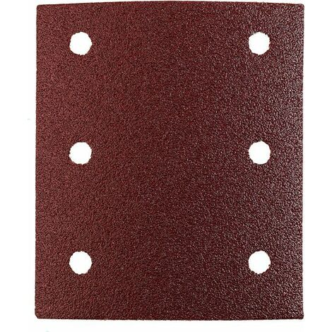 KWB Patins abrasifs QUICK-STICK, BOIS & MÉTAL, corindon affiné, 115 x 100 mm - 818024