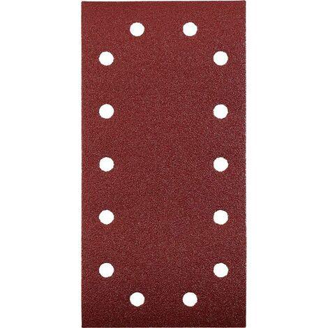 KWB Patins abrasifs QUICK-STICK, BOIS & MÉTAL, corindon affiné, 115 x 230 mm - 818912