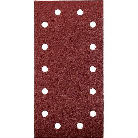 KWB Patins abrasifs QUICK-STICK, BOIS & MÉTAL, corindon affiné, 115 x 230 mm - 818918