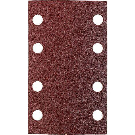 KWB Patins abrasifs QUICK-STICK, BOIS & MÉTAL, corindon affiné, 80 x 133 mm - 818412