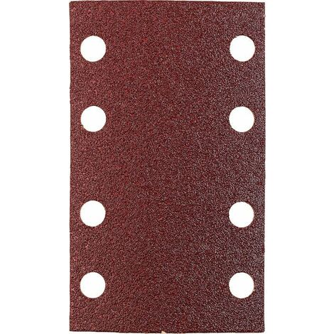 KWB Patins abrasifs QUICK-STICK, BOIS & MÉTAL, corindon affiné, 80 x 133 mm - 818418