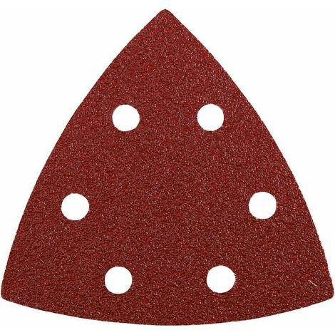 KWB Patins abrasifs triangulaires QUICK-STICK, BOIS & MÉTAL, 93 mm - 492870