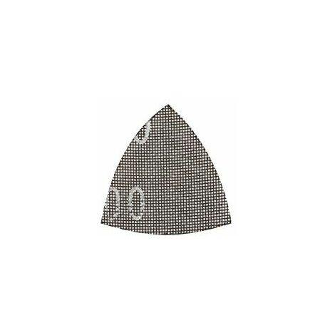 KWB Patins de ponçage pour ponceuse Delta 93x 93mm, Grain 120pour plâtre et, 1pièce, placoplâtre 492312