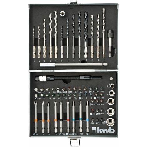 KWB POWER BOX, 67 pièces - 106300