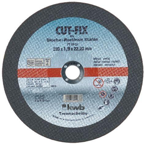 20 disques a tronconner 125x1x22,2 acier inox extra fin