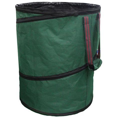 Kynast Gartensack, flexible Gartentonne, Laubsack, Grünabfalleimer Pop-Up 120 Liter 75 x 45 cm