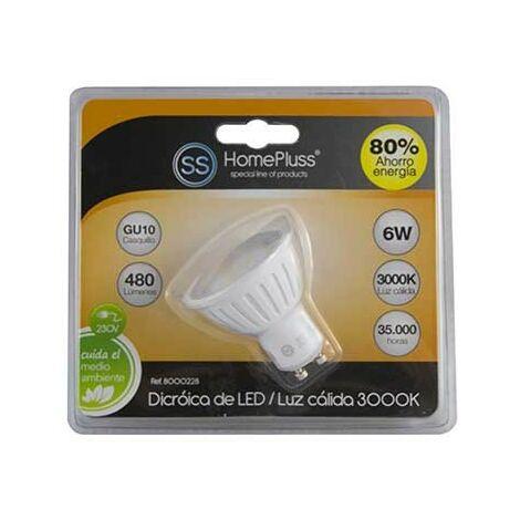 L/calida lampara 22l. gu-10 6w dicroica