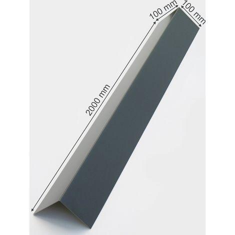 L Profil 100 mm Winkelprofil Alu Winkel Aluprofil Aluminium Alublech Blech Winkel
