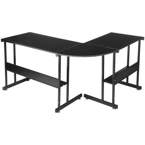 L-Shaped Corner Desk 147*112*95cm Gaming Computer Workstation