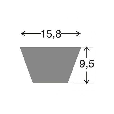 L584K - Courroie KEVLAR 5L840