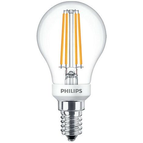 La bombilla de la Esfera strand Philips Led de 5W E14 2700K PHILEDLUS40E14D