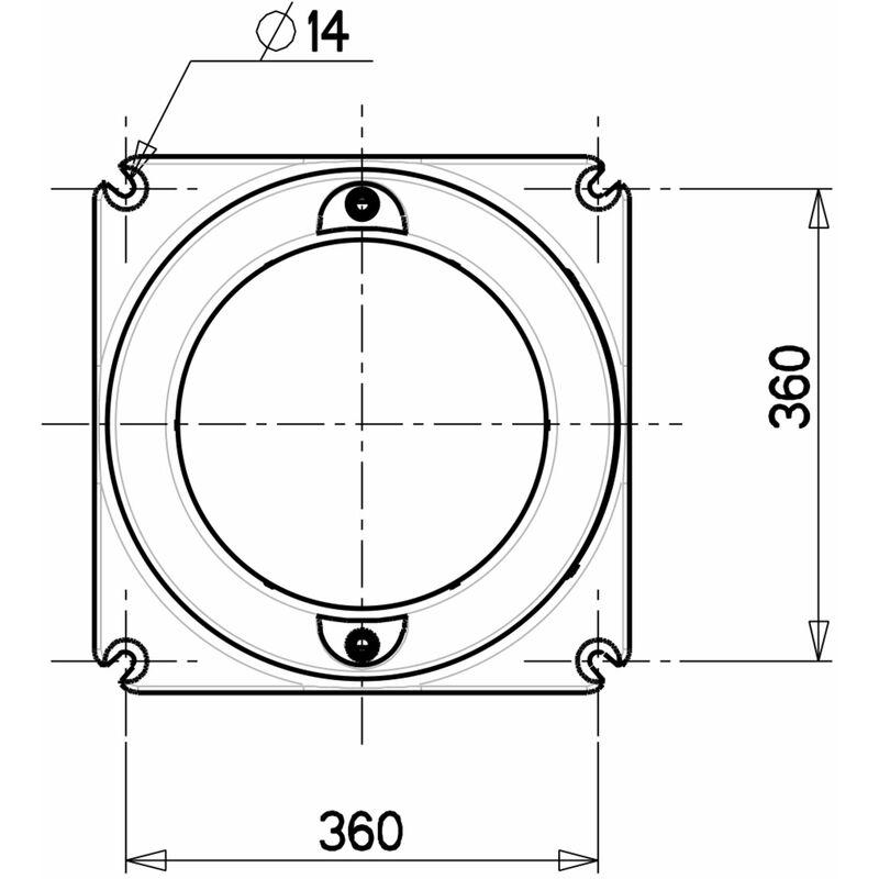 1rillig Keilriemenscheibe SPB125x19 für 17mm Riemenbreite Elektromotor
