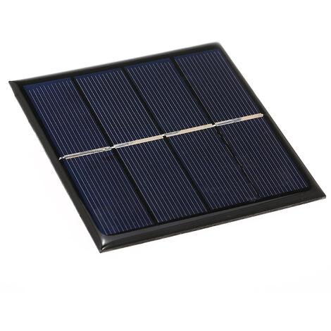 La carte de charge de panneau solaire 1W 2V peut charger une batterie rechargeable AA 1.2V
