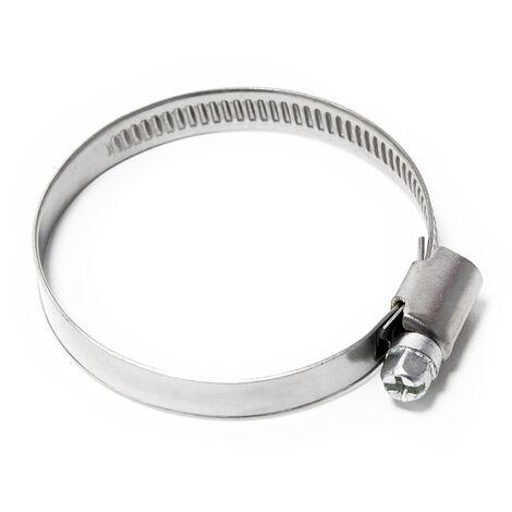 La crémaillère collier de serrage W4 inox largeur 9mm diamètre 25-40mm