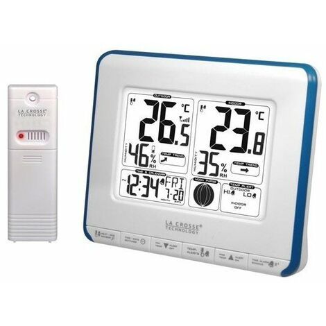 La crosse - station météorologique avec phases lunaires, notifications de la température et indice de chaleur