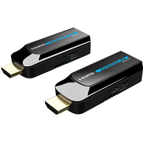 La extensión de la señal HDMI FTE y hasta 50 metros de EXTMINI