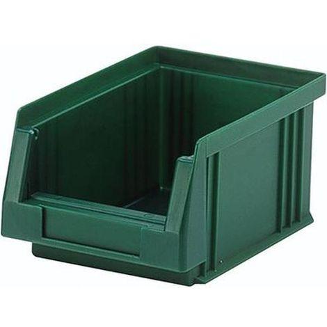 LA-KA-PE Sichtlagerkasten PLK 2a grün 330/297x213x200 mm (LxBxH)