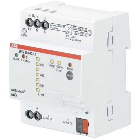 La línea de suministro de energía ABB 640MA con el diagnóstico de la funcionalidad de KNXA0003