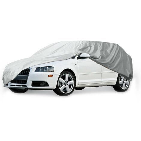 La lona del coche cubre Medio impermeable Gris 15326