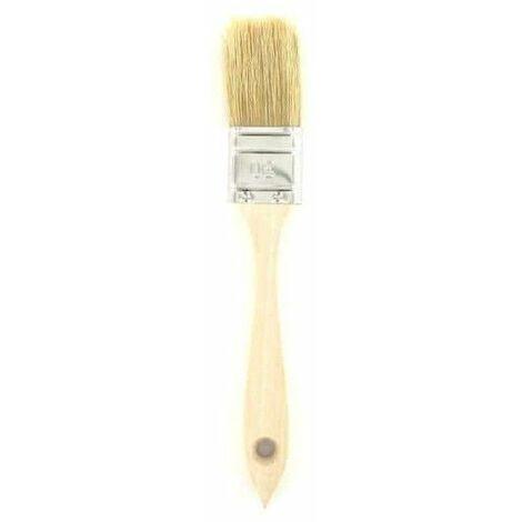 la pintura del cepillo de mango de madera de 30 mm