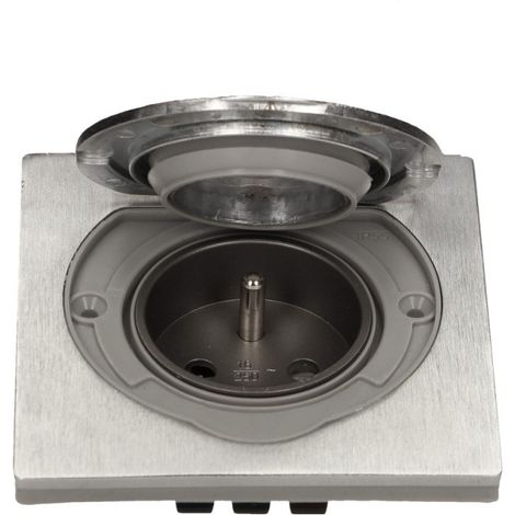 La prise électrique hermétique en acier inoxydable IP55