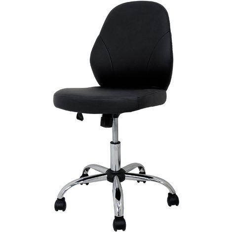 La Silla Española - Silla de oficina modelo Oviedo en color negro