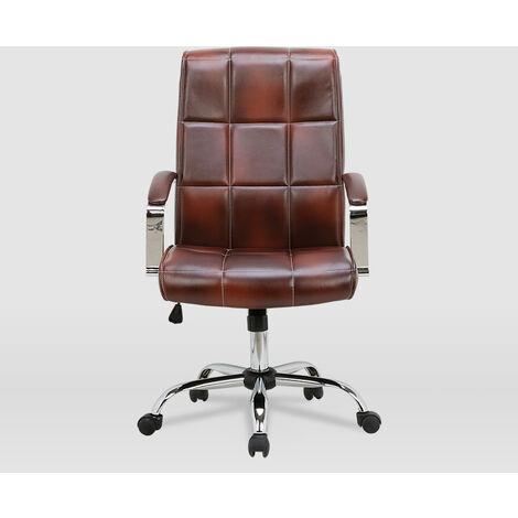 La Silla Española - Silla de oficina modelo Tejeda en color marrón