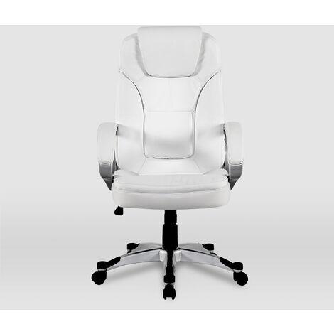 La Silla Española - Silla de oficina modelo Valencia en color blanco