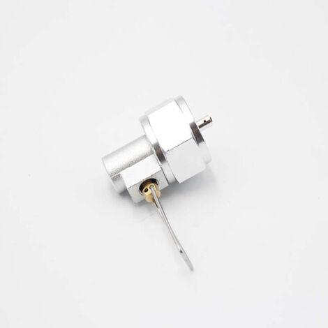 La valvula de gas propano de gas que rellena el conector de recarga camping gas adaptador de valvula, de tipo 2