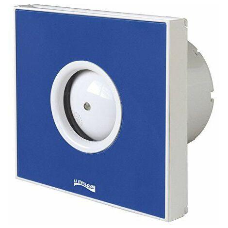 """La ventilation giotto10bl aspirateur spirale design extra plat, bleu, pour trou ø 100mm/4"""""""
