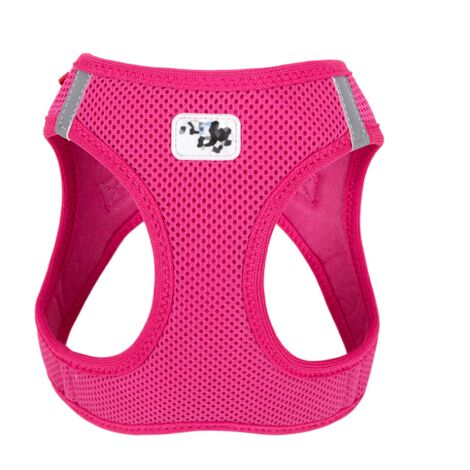 La veste en maille pour harnais pour chien (S Rose Red) est douce et respirante, convient aux petits chiens, chatons et petits animaux de compagnie