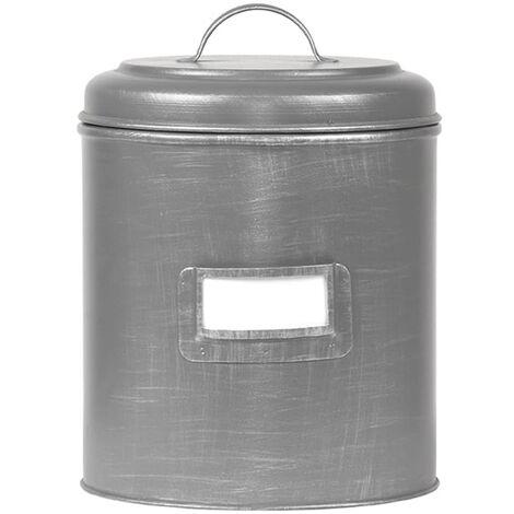 LABEL51 Canister 21x21x29 cm XXL Antique Grey - Grey
