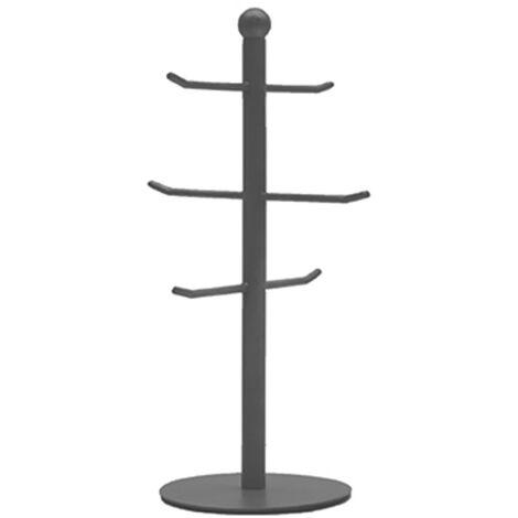 LABEL51 Portavasos de árbol 13x33cm - Gris