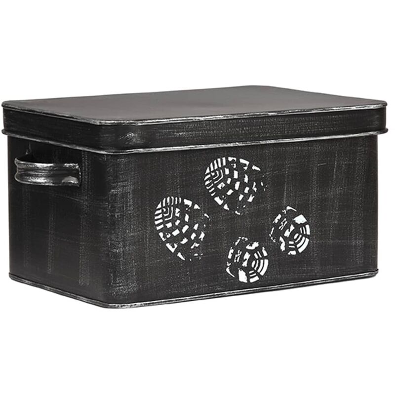 Image of Shoe Care Box 36x21x16 cm - Black - Label51
